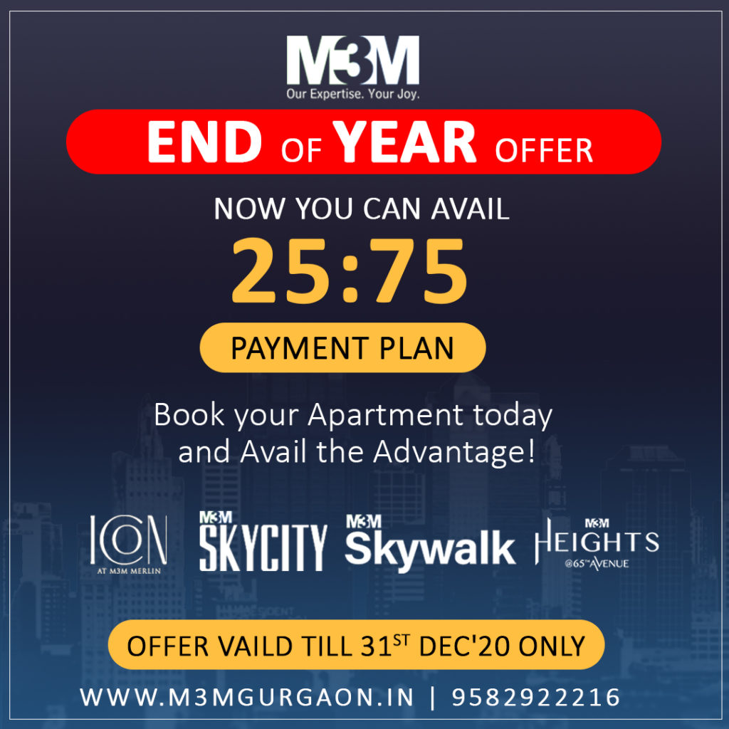M3M End of Year Offer